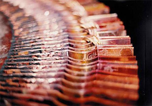 Motore elettrico Bandelle di collettore