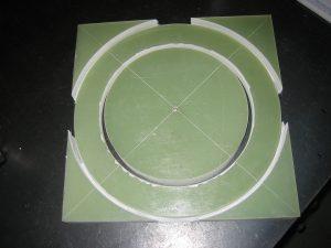 Fase ricostruzione portaspazzole